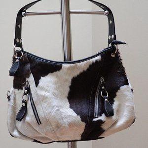 Pristine Genuine Handmade Cowhide Shoulder Bag